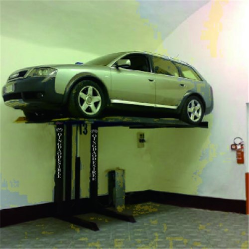Single Post Parking Lift