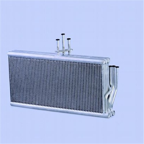 Finned Tube Microchannel Evaporator