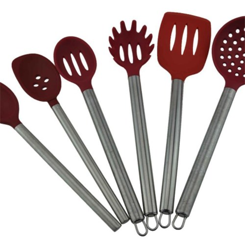 Silicone SS Utensils Set